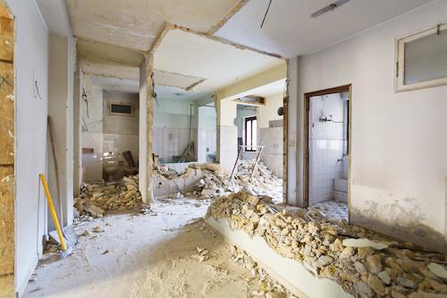 Entkernung Haus Berlin